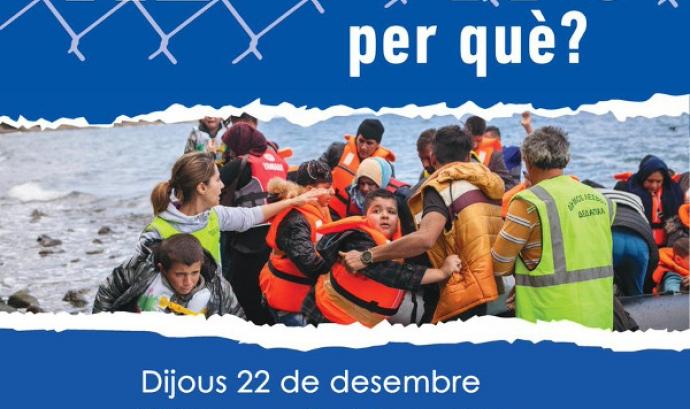 Exposició 'Refugiats, per què?'. Font: FundiPau