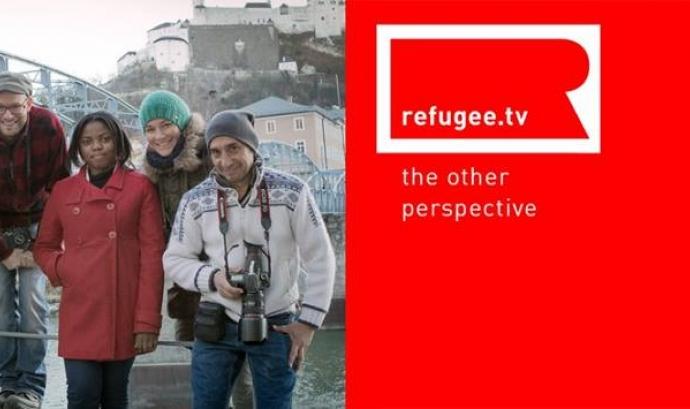 Banner de Refugee.tv Font: