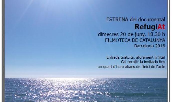Invitació 20 juny, documental RefugiAt