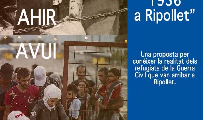 Ruta refugiats de l'any 1936 a Ripollet