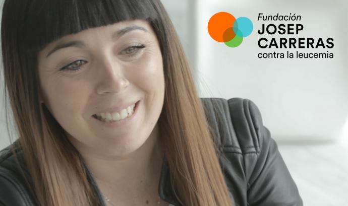 Regina Díez, del departament de Gestió d'Iniciatives Solidàries de la Fundació Josep Carreras.