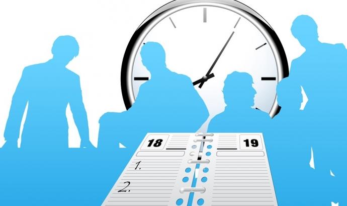 És també obligació de les persones treballadores registrar les hores de la seva jornada laboral. Font: Pixabay  Font: