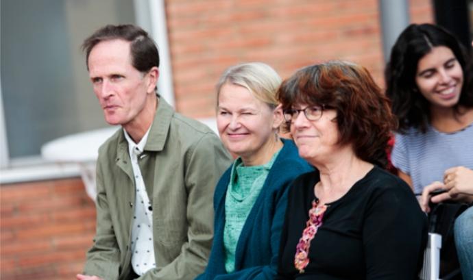 Participació de la traductora finesa Satu Ekman en una jornada anterior
