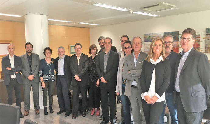 Jurat dels Premis Solidaris ONCE Catalunya 2018. Font: ONCE Catalunya