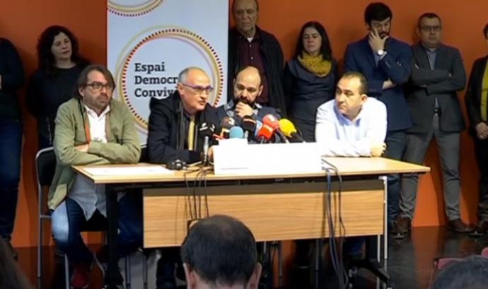 Moment de la roda de premsa. Font: BTV