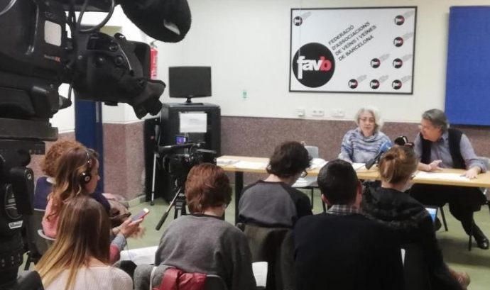 """La Favb considera que Barcelona es troba en una situació d'""""emergència habitacional"""" Font: Favb"""
