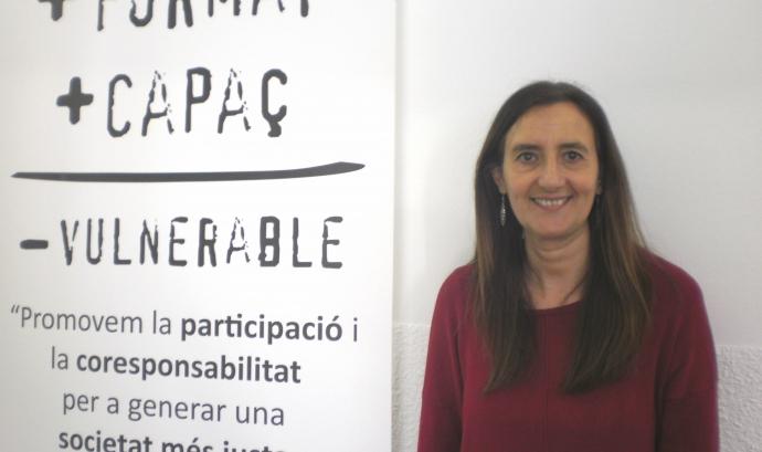 Rosa Mari Martín, responsable de la Fundació Akwaba - Foto: Fundació Akwaba Font: