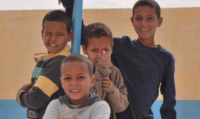 El Front Polisari preveu que arribaran 500 infants sahrauís a Catalunya aquest estiu. Font: Front Polisari Font: