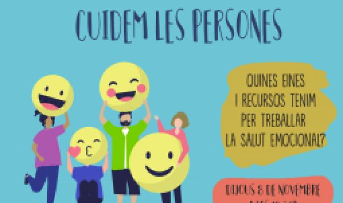 Cartell de la càpsula formativa 'Enfortim l'associació: cuidem les persones'