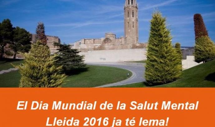Dia Mundial de la Salut Mental a Lleida.