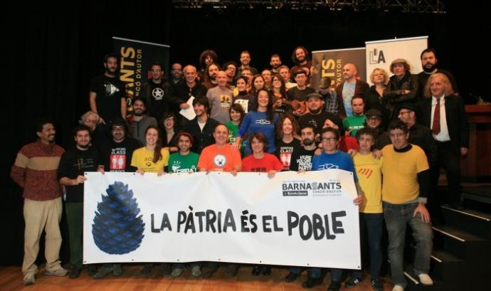 Equip del Festival Barnasants Font: Juan Miguel Morales