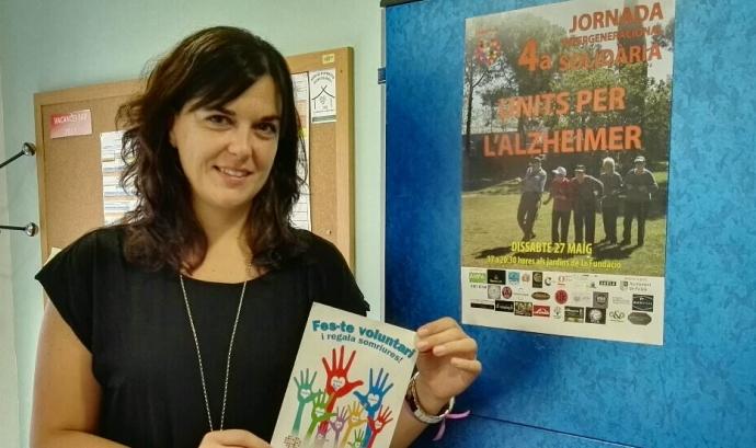 Sandra Morillas, responsable de voluntariat de la Fundació Ana Ribot.