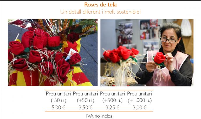 La Fundació Ared ofereix regals solidaris per Sant Jordi