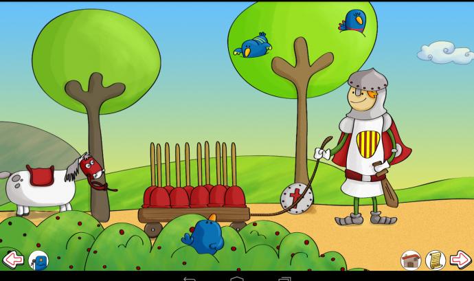 Sant Jordi la Llegenda. Aplicació de Pablo Manzano