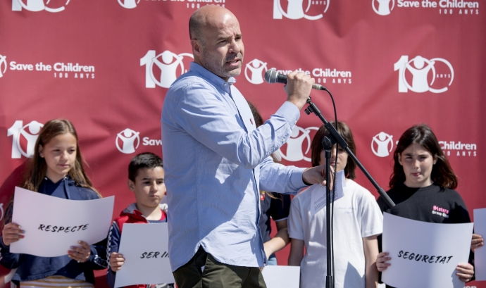 Antoni Pérez és director de la seu a Catalunya de Save The Children Font: Save The Children