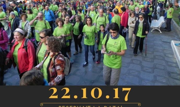 9a Caminada Solidària de La Muntanyeta a Tarragona Font: APPC Tarragona