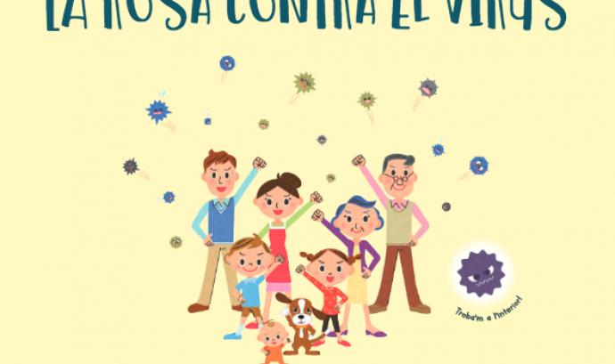 Conte La Rosa contra el virus Font: Editorial Sentir