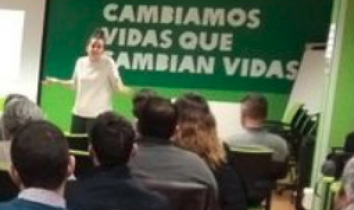 La xerrada està organitzada per NetSquared Barcelona