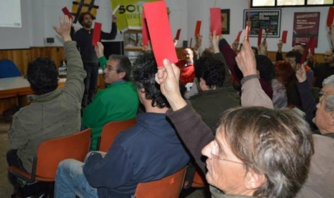 Assamblea de Socis de Som Energia Barcelona (imatge: blog.somenergia.coop)