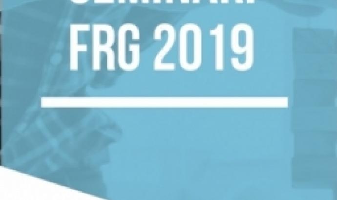Cartell del seminari. Font: Fundació Roca Galès
