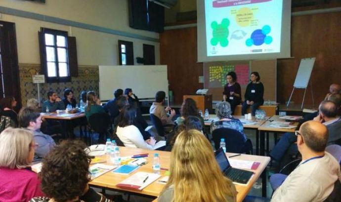 Seminari sobre EpD del passat 15 de gener a Barcelona (Font: FAS) Font: