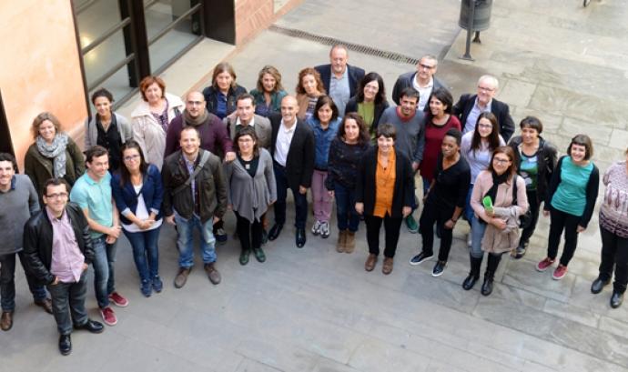 Membres de la Xarxa d'Atenció a Persones Sense Llar (XAPSLL). Font: Ajuntament de Barcelona