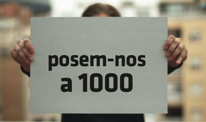 """Campanya """"Posem-nos a 1000"""" de #SentitCrític. Font:"""