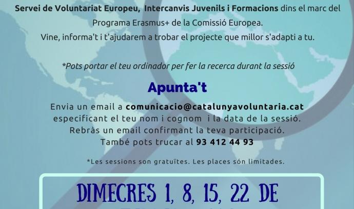 Xerrades informatives: voluntariat europeu!