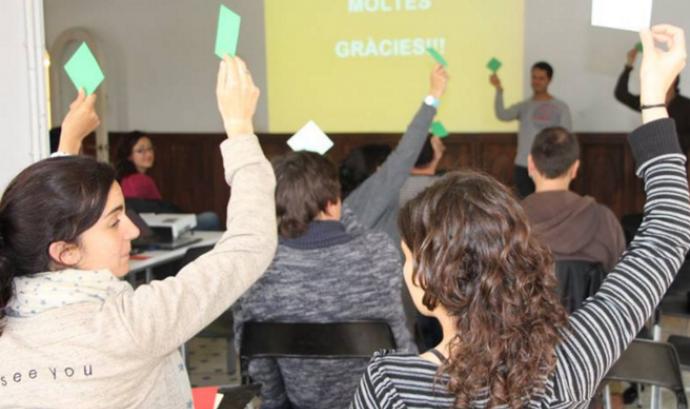 Assemblea de sòcies 2016 de Setem Catalunya