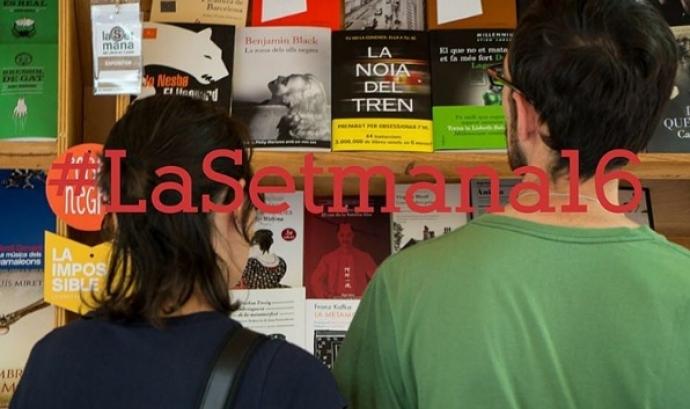 La Setmana del Llibre en Català se celebrarà del 2 a l'11 de setembre a Barcelona (foto: Instagram lasetmana) Font: