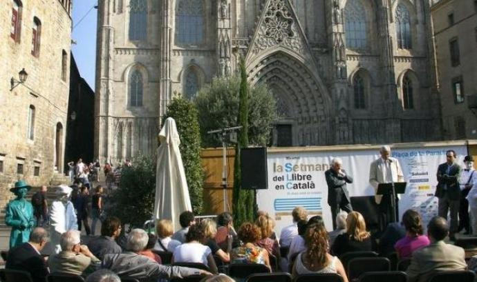 Una de les darreres edicions de la Setmana del Llibre en Català.