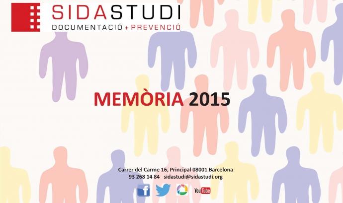Portada Memòria 2015 SIDA STUDI Font: