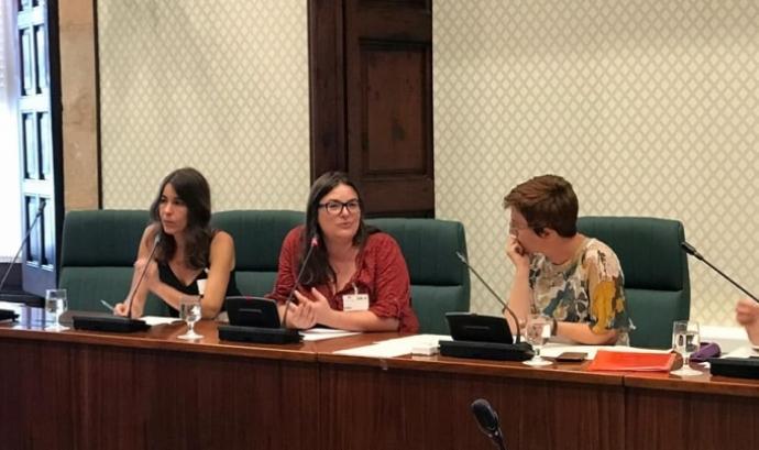 L'Observatori dels Drets sexuals i reproductius va nèixer el 2018. Silvia Aldavert n'és la coordinadora.  Font: Font: ODSiR