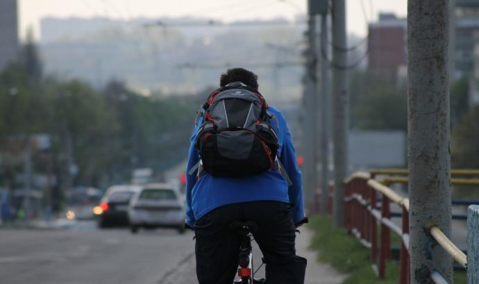 Les víctimes ciclistes a les carreteres passen de dos a nou en un any. Font: CC
