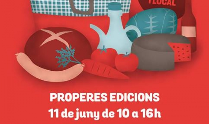 Cartell del Mercat de la Terra de Slow Food Barcelona (imatge: slowbcn.cat)