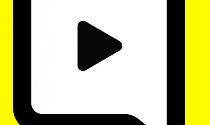 15 aplicacions de missatgeria instantània. Logotip de Snapchat.
