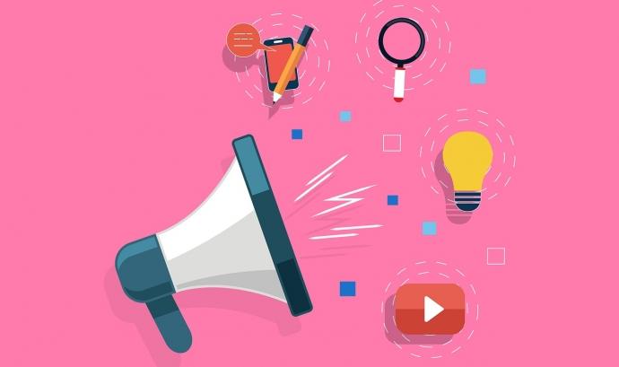 El màrqueting de continguts facilita a les entitats sense afany de lucre compartir una història significativa i inspiradora i arribar a més persones Font: Kreatikar (Pixabay)