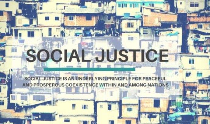 Justícia social. Font: Twitter