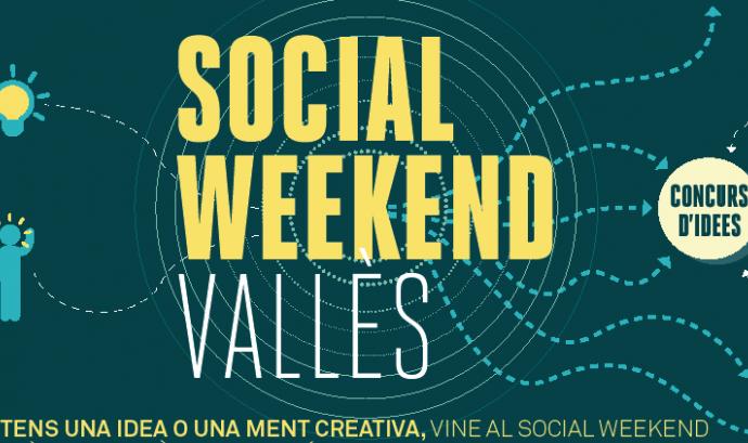 Imatge Social Weekend Vallès. Font: web Innovació Vallès Font: