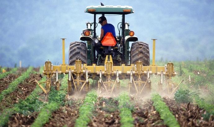 La pagesia està vivint una forta situació de crisi. Font: CC