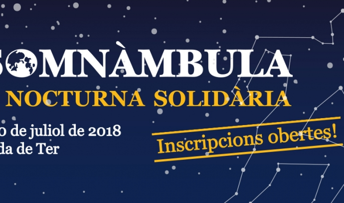 Cartell de la 5a edició de La Somnàmbula