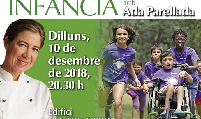 Ada Parellada és la xef encarregada d'el·laborar el menú. Font: Fundesplai.
