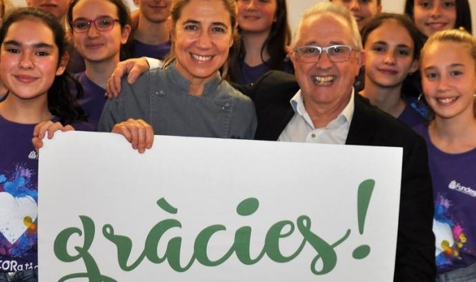 És la tercera edició del sopar solidari que organitza la Fundació Catalana de l'Esplai cada any.