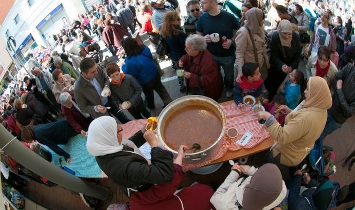 Festival de Sopes del Món 2014. Font: Pedro Garcia (Google+)