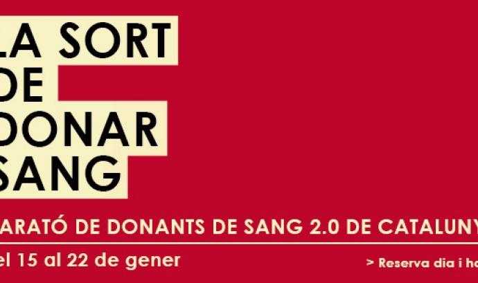 Marató de Donants - Font: Banc de Sang i teixits Font: