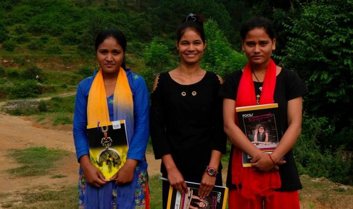 Sunita, Manisha Nath, i Tejana Font: be artsy