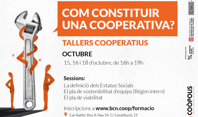 cartell dels tallers