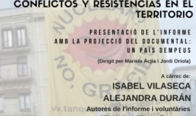 La presentació, anirà acompanyada amb la projecció del documental 'Un país dempeus' de Mariela Acja i Jordi Oriala. Font: Enginyeria Sense Fronteres.