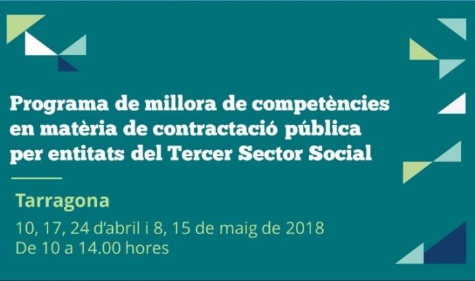 Programa de millora de competències en matèria de contractació pública a Tarragona