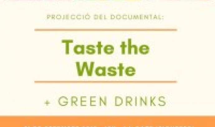 Projecció del documental Taste the Waste a Girona